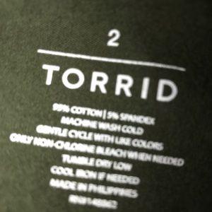 torrid Tops - Torrid tank!
